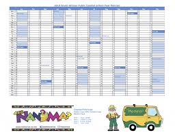 term planner template south african school terms and holiday calendar 2013 for public share this