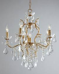 Faux Crystal Chandeliers Chandelier Lighting At Neiman Marcus Horchow