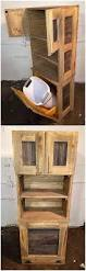 best 25 trash bins ideas on pinterest hidden trash can kitchen 50 easy diy ideas out of wooden pallets