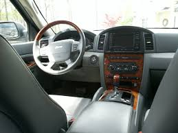grey jeep grand cherokee interior 2005 2011 jeep grand cherokee aftermarket android 7 1 hd touch