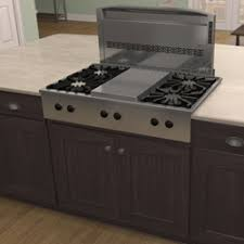 Slide In Gas Cooktop Cattura Downdraft Best
