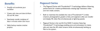 amazon black friday external hard drive amazon com promise p3r6hd24us pegasus3 r6 24tb 6x4tb