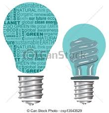 eco friendly light bulbs text eco friendly light bulb eco friendly light bulb vector