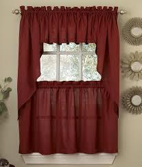 red kitchen curtains sale curtain valance valances on muarju