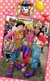 where can i rent a clown for a birthday party clowns and clowns minnie the clown
