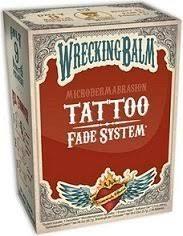 amazon com wrecking balm tattoo fade system beauty