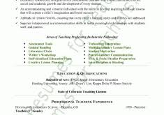 Resume Of A Teacher Sample by Awesome To Do Educational Resume Template 13 Teacher Resume Sample