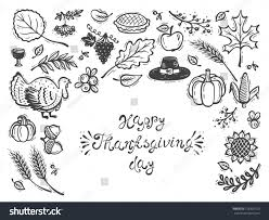 happy thanksgiving day vector greeting card stock vector 728392720