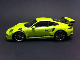 porsche 911 gt3 rs green porsche 991 gt3 rs 2016 light green 1 43 minichamps ca04316007