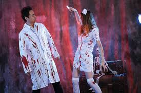 wholesale in 2016 the new halloween couple played the nurse u0027s