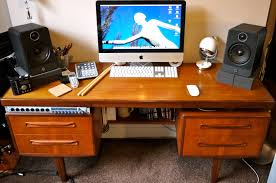 Recording Studio Workstation Desk by Workstation Desk Plans