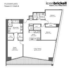 Icon Brickell Floor Plans Icon Brickell Lux Life Miami Blog