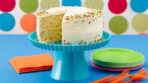 kids cakes confetti cake recipe bettycrocker