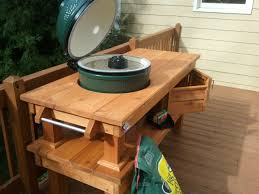 xl big green egg table plans pdf green egg table design