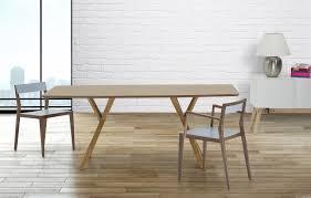 beliani modern dining table kitchen furniture pine lisala