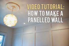 panelled walls how to make a panelled wall rambling renovators