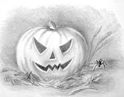Halloween Drawing Shading Halloween Drawings U2013 Halloween Wizard