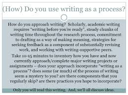 Seeking Feedback While Writing Your Dissertation SlideShare