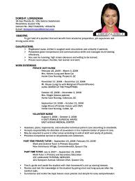 Sample Resume For Government Jobs by Basic Resume Templates