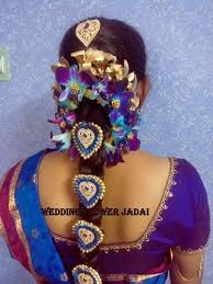 Flower Decorations For Hair Hair Decoration Services U0026 Stylish Hair Style Service Provider