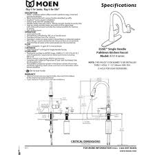 Moen White Kitchen Faucet Moen 87014srs Essie Spot Resist Stainless Pullout Spray Kitchen
