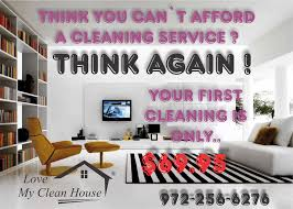 house cleaning tips for my customers in dallas mckinney plano