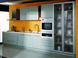 Metal Cabinets For Kitchen Metal Kitchen Cabinets With Modern Design Lawnpatiobarn