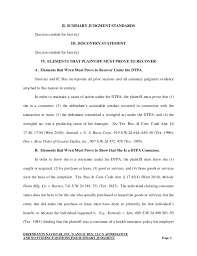 Motion For Summary Judgment Template writing sle motion for summary judgment abbreviated for martine