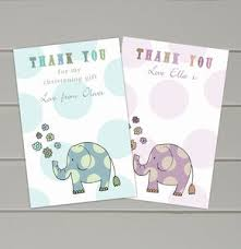 Thank You Cards For Baby Shower Gifts - baby gift thank you cards