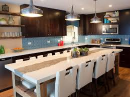 kitchen island ideas pinterest glass mosaic backsplash in kitchen