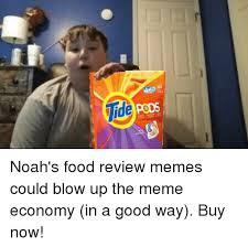 Meme Food - noahs food review memes could blow up the meme economy 29979806