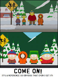 Southpark Meme - meme south park reference in the simpsons by bunny kirby on