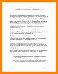 9 subpoena sample letter resume sections