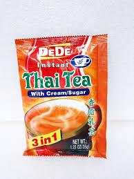 instant cuisine de de instant tea 3 in 1 ชาไทยทร อ นว น 3 aunties market