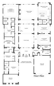 Interior Courtyard House Plans by 51 Best U Shaped House Plans Images On Pinterest Architecture U