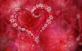 beautiful valentine u0027s day wallpaper hearts and flowers