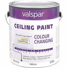 valspar color changing latex flat ceiling paint walmart com