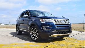 Ford Explorer Old - 2017 ford explorer platinum 4x4 hd road test review