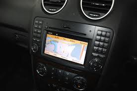 mercedes benz m class ml navigation system comand retrofit ntg 2 5