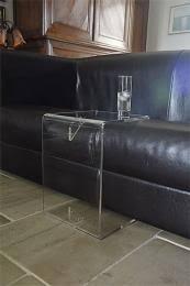 table pour canapé mobilier form xl meubles plexi tables basses et dessertes