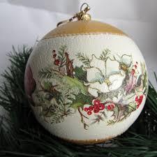 decoupage bombka z rozami szukaj w google decoupage christmas