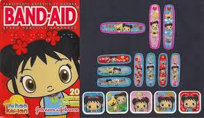 band aid collection ni hao kai lan