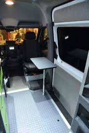 nissan van interior 380 best vans images on pinterest camper van conversions camper