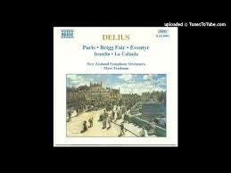 Delius In A Summer Garden - frederick delius paris the song of a great city rt vi 14