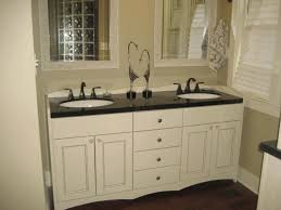 Gray And Tan Bathroom - under sink shelving gray sink cabinet with multiple storage stony