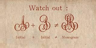 Initial Monogram Fonts 1864 Glc Monogram Webfont U0026 Desktop Font Myfonts