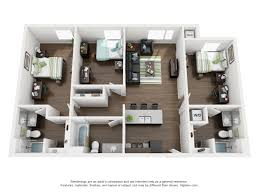 Floor Plans For Apartments 3 Bedroom by University Of Nebraska Lincoln Apartments 3 Bed 3 Bath 1100 Y