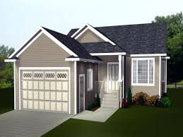 small house plans with garage attached duplex garagehouse design