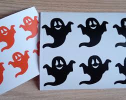 ghost decals etsy