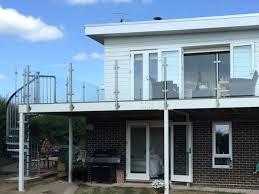 balconey refurbished glass steel balcony no handrail bognor regis sunrock